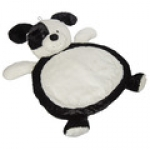 Bestever Black & White Puppy Baby Mat