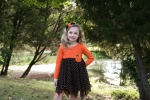 Pumpkin Handkerchief Dress