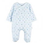 Blue Elephant Footed Coverall