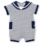 Little Skipper Stripe Romper