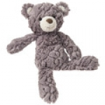 Grey Putty Bear  11""