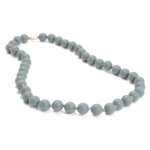 Stormy Grey Jane Teething Necklace