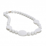 White Perry Teething Necklace