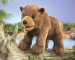 Brown Bear Cub Puppet