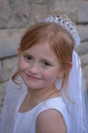 Reagen First Communion Veil