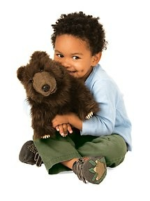 Brown Bear Puppet