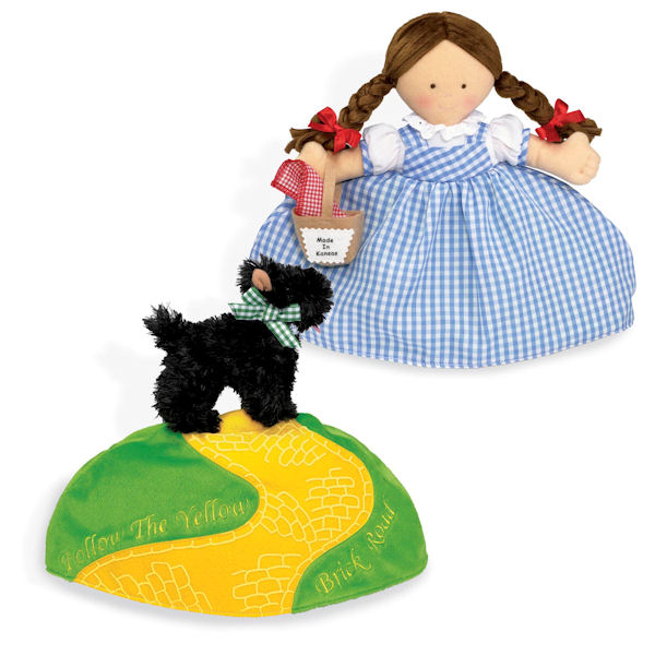 Dorothy and Toto Topsy Turvy