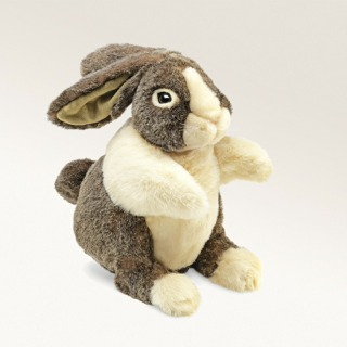 Dutch Rabbit Puppet