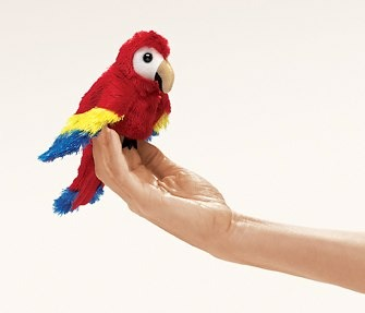Mini Scarlet Macaw Puppet