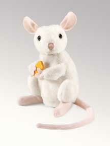 Nibbling Mouse Puppet