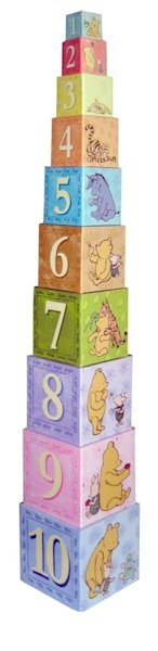 Classic Pooh Stacking Nesting Blocks