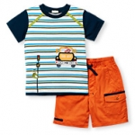 Zoo On The Move Twill Short Set