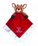 Baby's First Christmas Blanky Rudolph