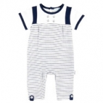 Little Skipper Stripe Coverall