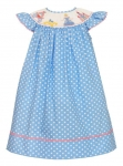 Cinderella Smocked Bishop Dress