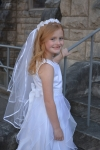 Beth First Communion Veil