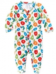 Fruit Toss Footed Playsuit