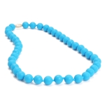 Deep Sea Blue Jane Teething Necklace