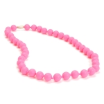 Punchy Pink Jane Teething Necklace
