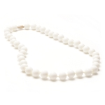 White Jane Teething Necklace
