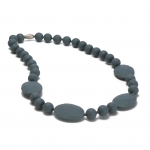 Stormy Grey Perry Teething Necklace