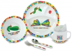 The Very Hungry Caterpillar Dish Set
