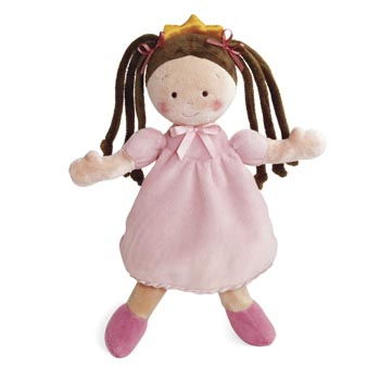 "10"" Little Princess Tan Doll"