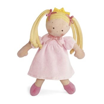 "10"" Little Princess Blonde Doll"