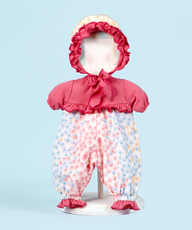 "Flower Romper Outfit for 14"" Dolls"