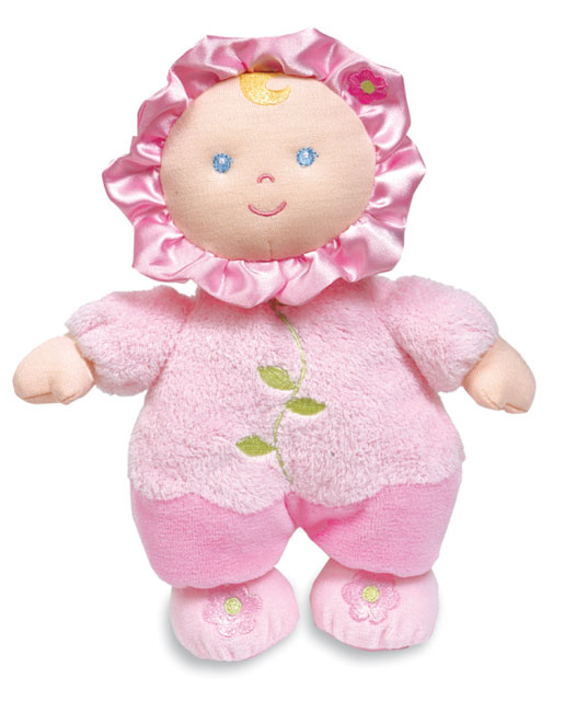 Flower Rattle Baby Doll
