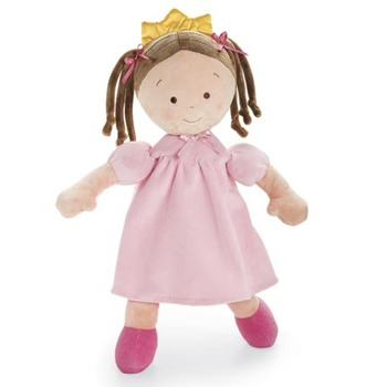 "16"" Little Princess Brunette Doll"