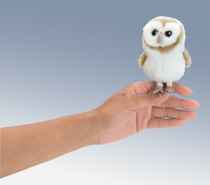 Mini Barn Owl Puppet