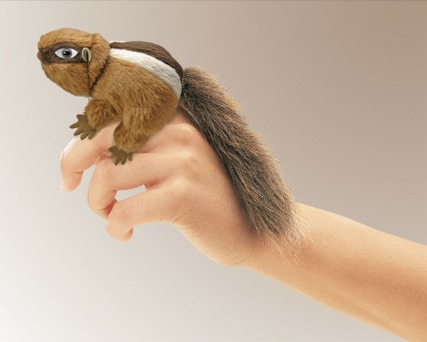 Mini Chipmunk Puppet