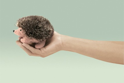 Mini Hedgehog Puppet