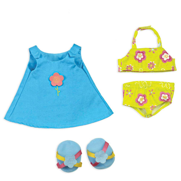 Rosy Cheeks Big Sister Beach Outfit Set