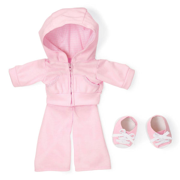 Rosy Cheeks Big Sister Track Suit Outfit Set